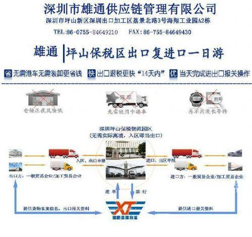 深圳保税区转厂一日游最新模式