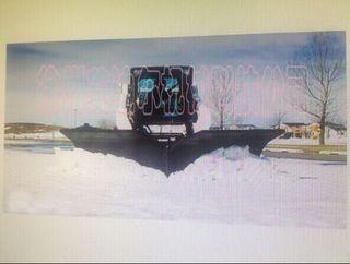 滑移装载机附具改装抛雪机