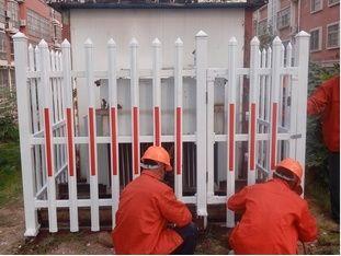小区草坪塑钢围栏电力塑钢围栏