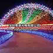 LED彩灯闪灯串灯节日满天星灯串装饰圣诞灯星星户外防水婚庆用品