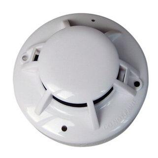 消防工程联网烟感2-4线开关量信号报警器外贸型联网烟感