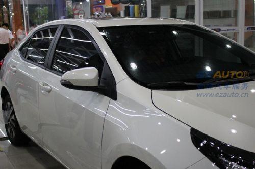 石家庄汽车太阳膜贴膜日产骐达汽车隔热膜汽车玻璃贴膜授权店