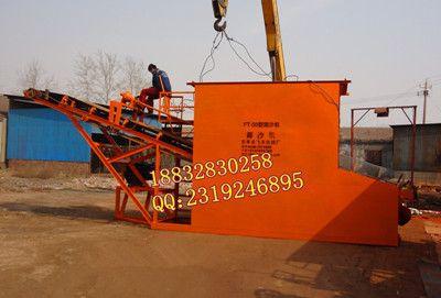 大型高效滚筒筛沙机