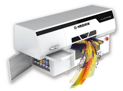 畅销爆款 金谷田小型UV平板彩印机玻璃图案喷绘机