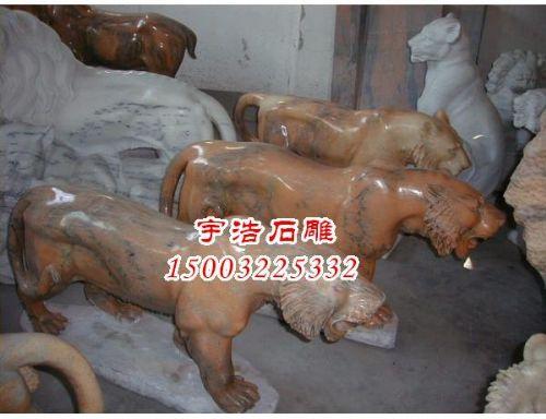 老虎雕塑价格-石雕喷泉价格-新农村牌楼-曲阳宏星雕塑