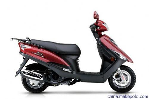 豪爵海王星150T踏板摩托车 上学代步车 两轮女式摩托车