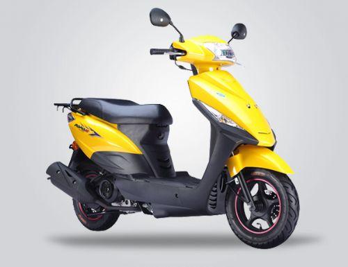 大阳DY100T-8踏板摩托车 女式摩托车价格 电池电瓶车,电池