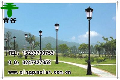 内蒙古呼和浩特|呼伦贝尔太阳能庭院灯销售价格