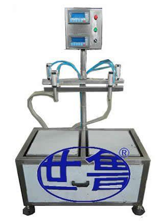 电脑称重式灌装机适用于中小剂量的铁桶