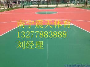 桂林丙烯酸篮球场如何施工,桂林丙烯酸篮球场报价