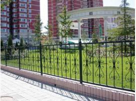高质量铁艺围栏