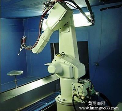 高精度操作的自动化喷漆机器人