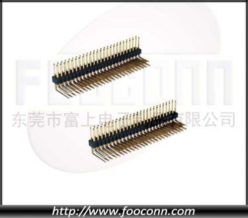 1.27mm单/双排排针 插板/贴板 塑高1.6mm
