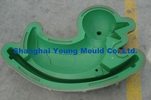 儿童玩具模具 滚塑模具 塑料模具 滑梯设计 游乐设备模具加工