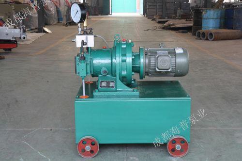 石油机械检测、高压油井安全测试电动试压泵