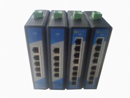 易睿信五口非网管型工业以太网交换机E-630W-5T