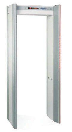 美国Rapiscan Metor200超高灵敏度多区位金属探测门