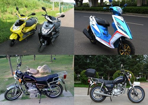 界首二手摩托车交易市场