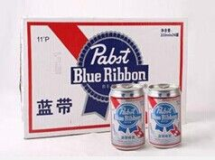 蓝带啤酒批发商