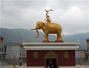 铜雕大象定做厂家