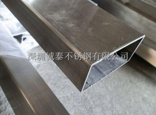 上海 304不锈钢矩形管 非标不锈钢管 订做加工