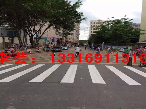 惠州生活小区道路划线,湖镇停车位生活小区道路划线