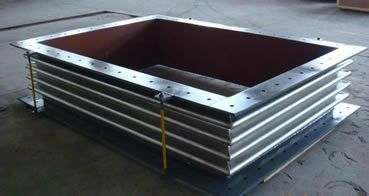 大量供应矩形金属波纹补偿器
