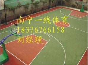 南宁哪里有卖塑胶篮球场材料