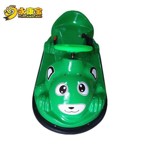 儿童咪咪电瓶车 卡通动物碰碰车 智能远程控制器