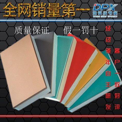 新型外墙防火保温装饰一体板