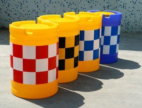 滚塑防撞桶规格 塑料防撞桶价格
