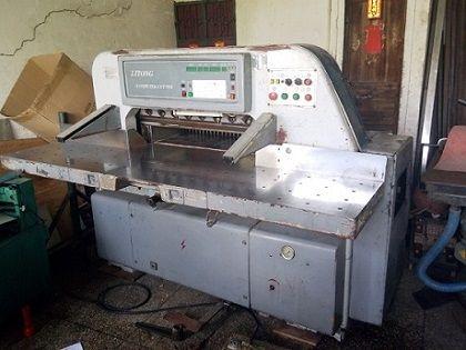 二手920液压数显切纸机