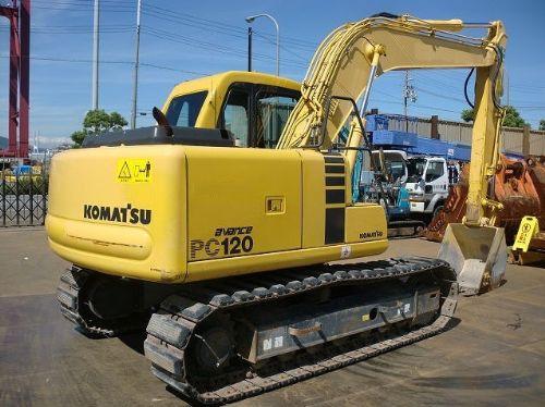 出售小松120-6进口二手挖掘机