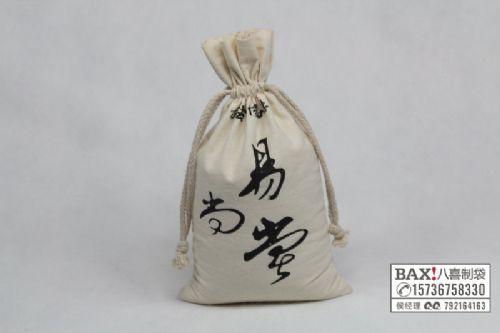 厂家定制 纯棉帆布袋 全棉小棉布袋 环保帆布袋 束口抽绳袋定做