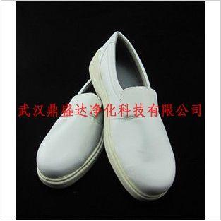 耐酸碱防砸白色防静电工作鞋
