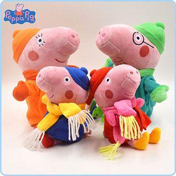 正版授权小猪佩奇毛绒玩具