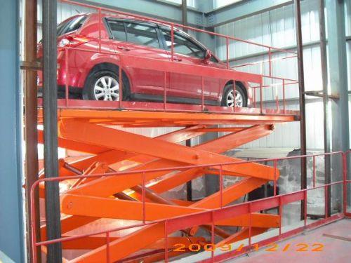 萍乡液压升降机 升降平台 大吨位汽车举升机