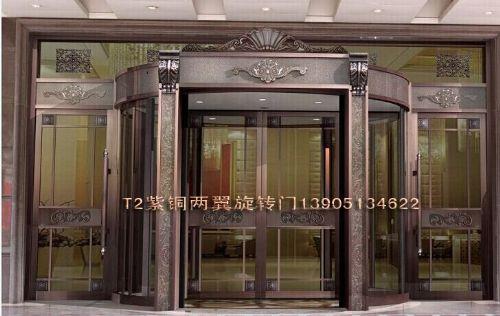 三翼旋转门,南京扬州南通淮安三翼环柱旋转门价格报价