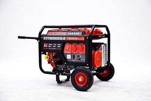 5KW便携式家用汽油发电机组