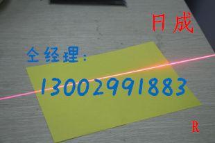 一字线激光模组激光器