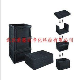 防静电可折叠式周转箱防静电箱防静电黑色箱