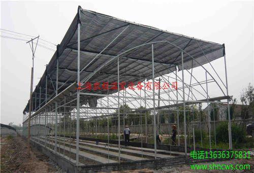 连体塑料大棚 圆拱形连栋大棚 陕西温室大棚