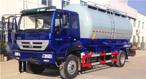 重汽新黄河23吨散装水泥运输车