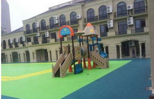 济南运动拼装地板 运动悬浮拼装地板 球场地胶