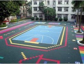 济南运动塑胶地板地胶体育馆专业地板