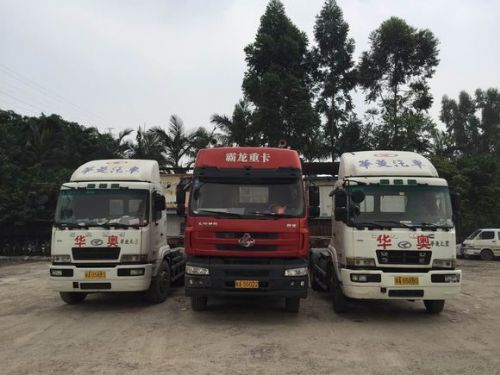 黄埔货运集装箱拖车