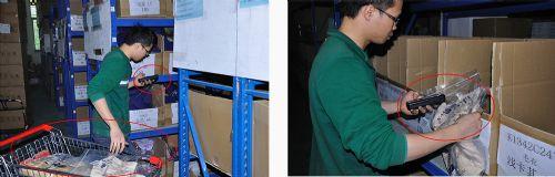 易神移动仓储最好的服装仓库管理软件,仓库物流系统