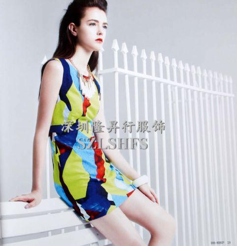 台湾品牌折扣连衣裙批发,台湾品牌朋*衣*玛佳*蔻折扣连衣裙