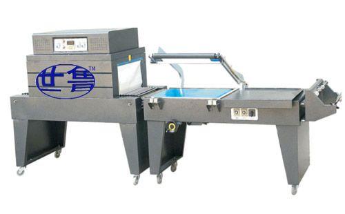 半自动L型封切包装机-礼品盒套膜包装机-医药盒自动套膜收缩机