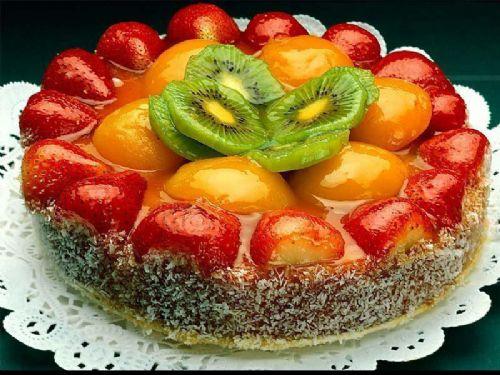 糕点生日蛋糕做法水果鲜奶蛋糕制作过程